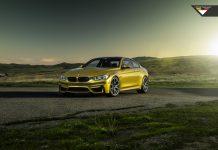 Vorsteiner Austin Yellow BMW M4