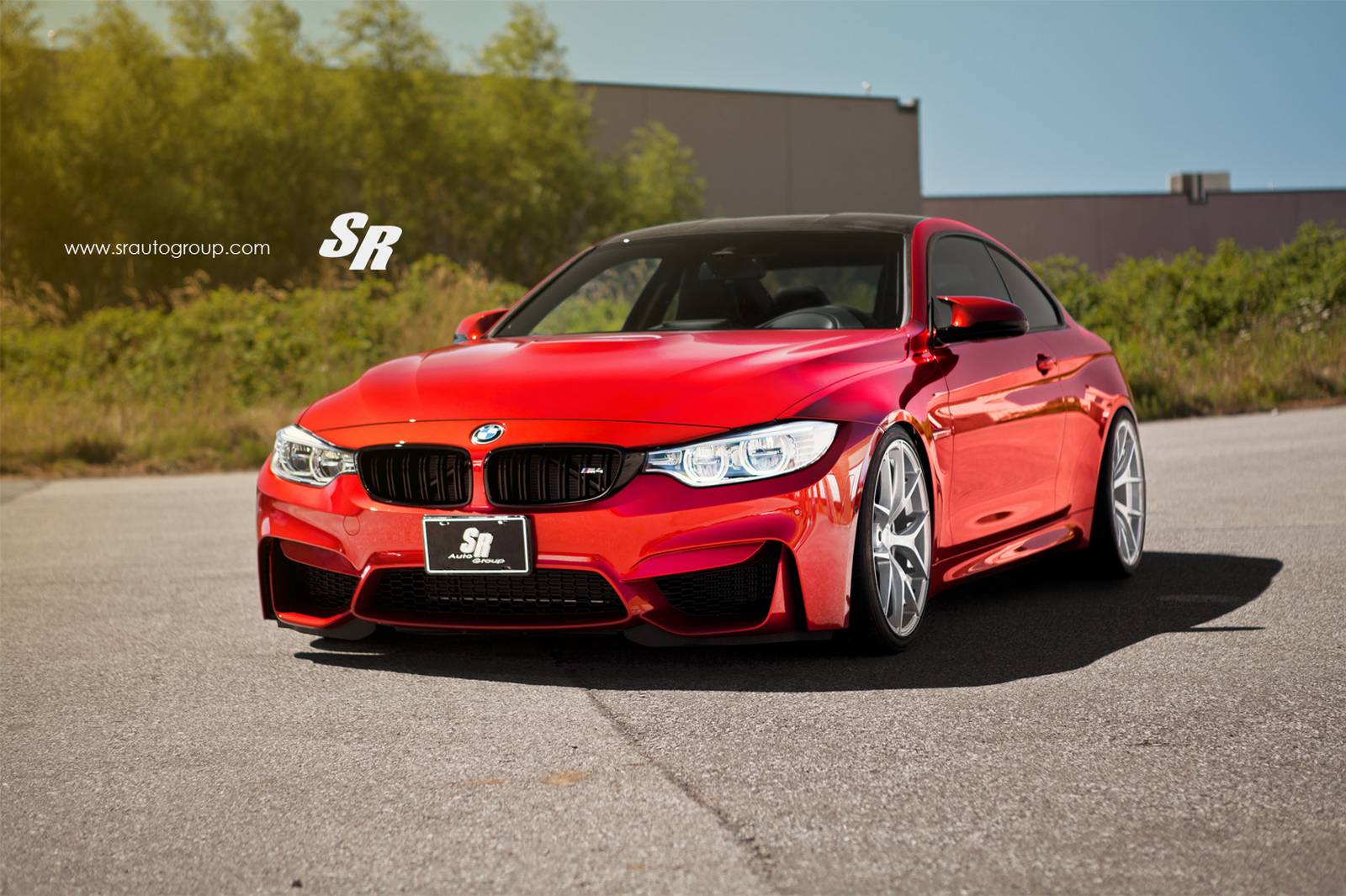 stunning red bmw m4 by sr auto group gtspirit. Black Bedroom Furniture Sets. Home Design Ideas