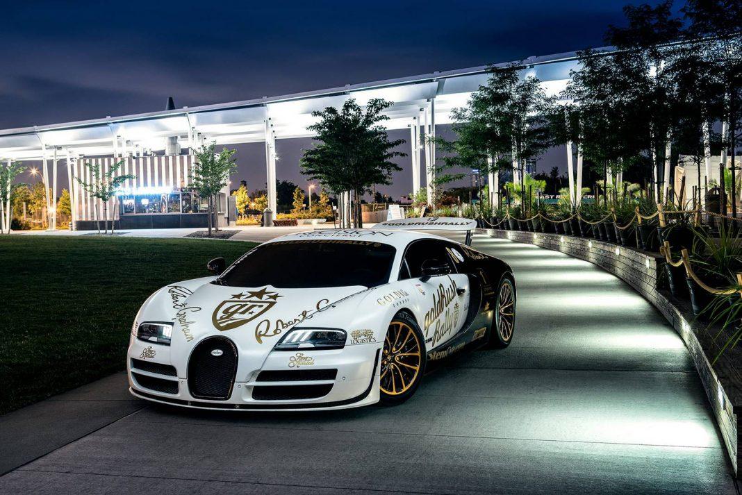 goldrush rally bugatti veyron supersport pur blanc in nyc gtspirit. Black Bedroom Furniture Sets. Home Design Ideas