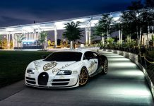 goldRush Rally Bugatti Veyron Supersport Pur Blanc in NYC