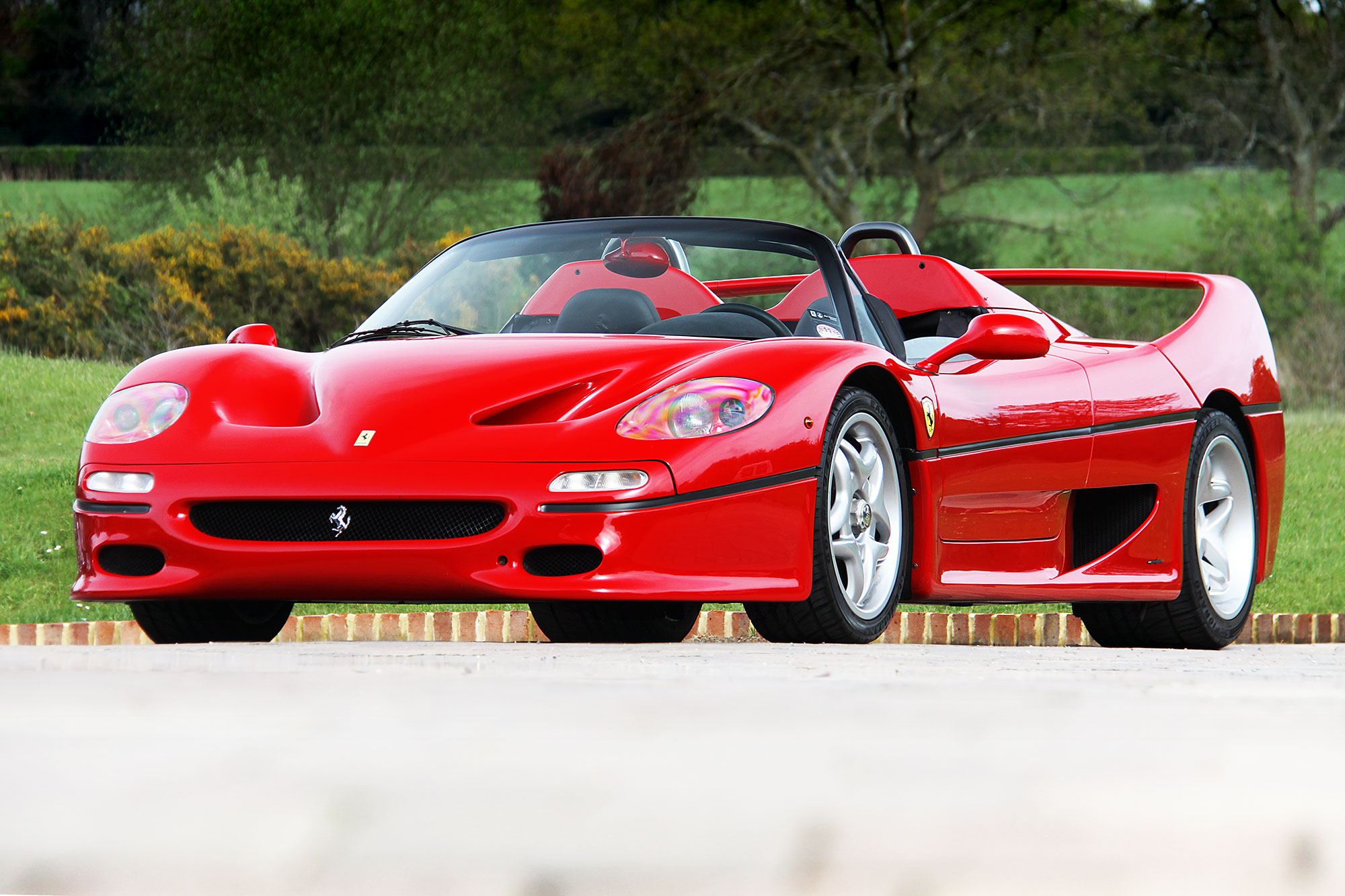 Pristine 1997 ferrari f50 heading to silverstone auctions