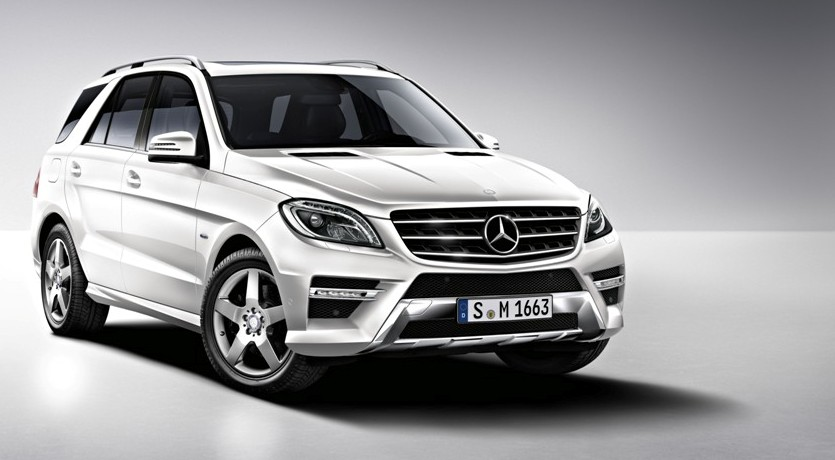 two new engines added to mercedes benz ml line up gtspirit. Black Bedroom Furniture Sets. Home Design Ideas