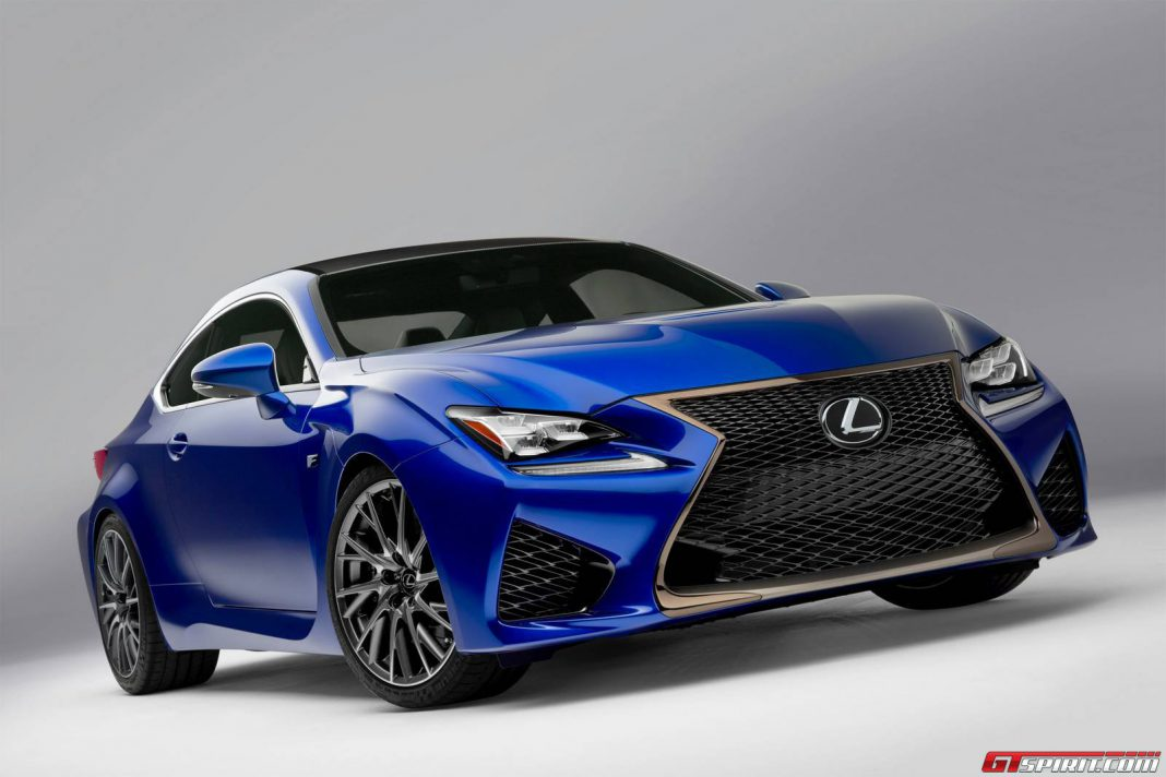 Order Books Open for Lexus RC F