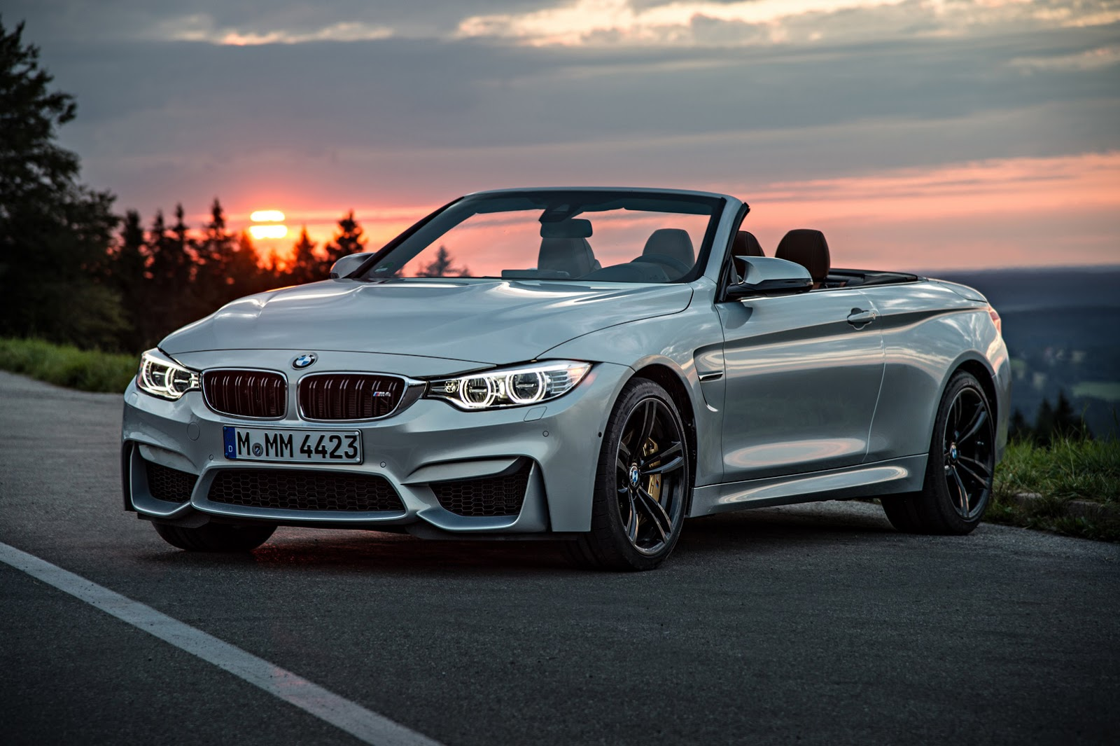 stunning 2014 bmw m4 convertible by bmw individual gtspirit. Black Bedroom Furniture Sets. Home Design Ideas