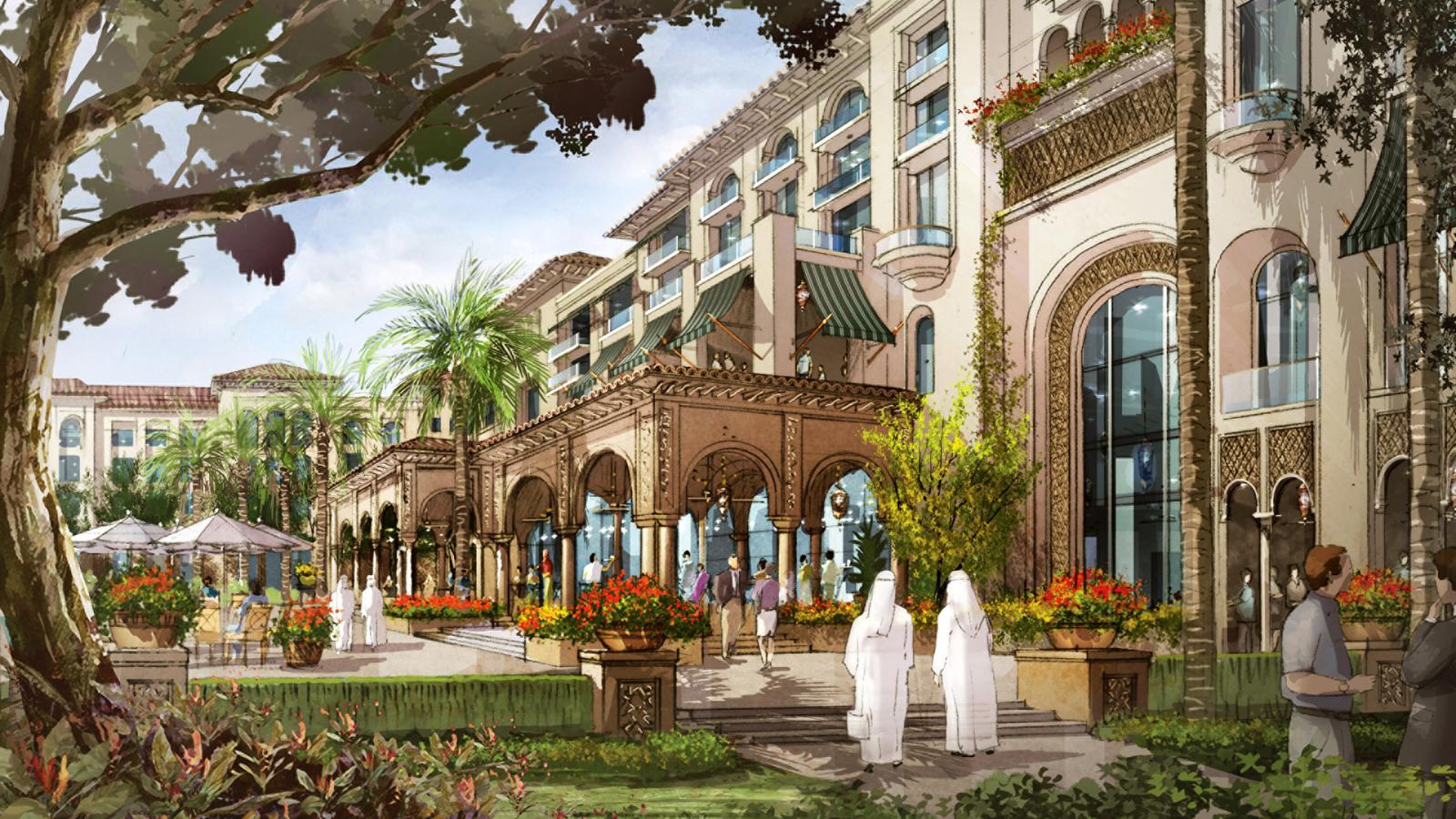 Four seasons resort dubai at jumeirah beach previewed for Fourseason hotel