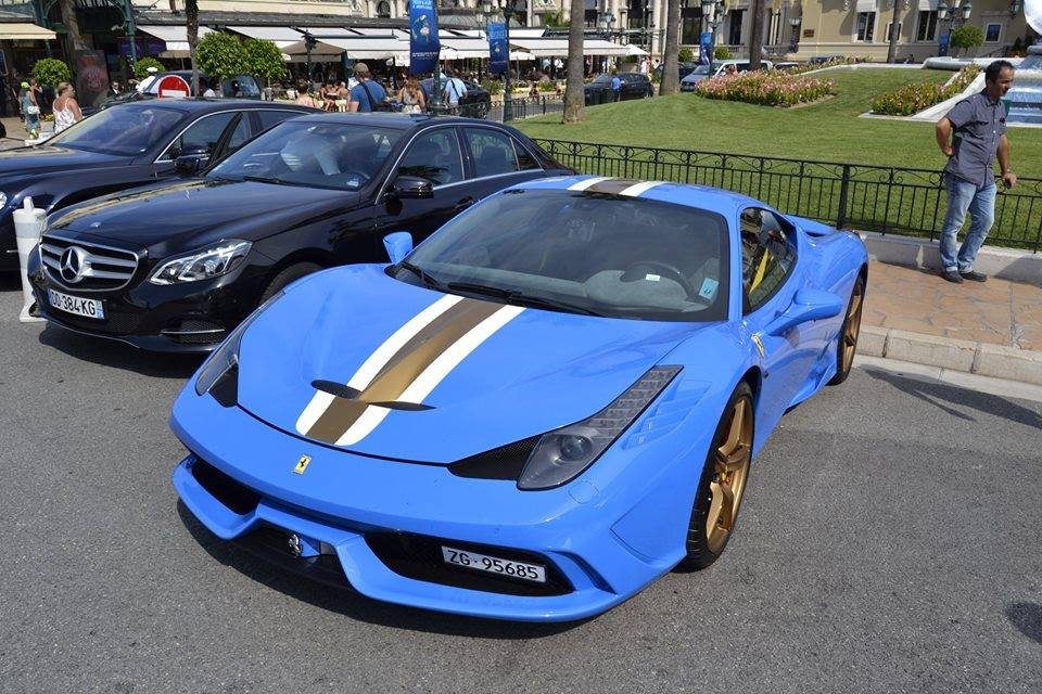 blue ferrari 458 speciale - Ferrari 458 Blue And White