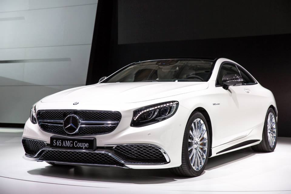 Mercedes benz at the moscow international auto show 2014 for Mercedes benz s65 coupe