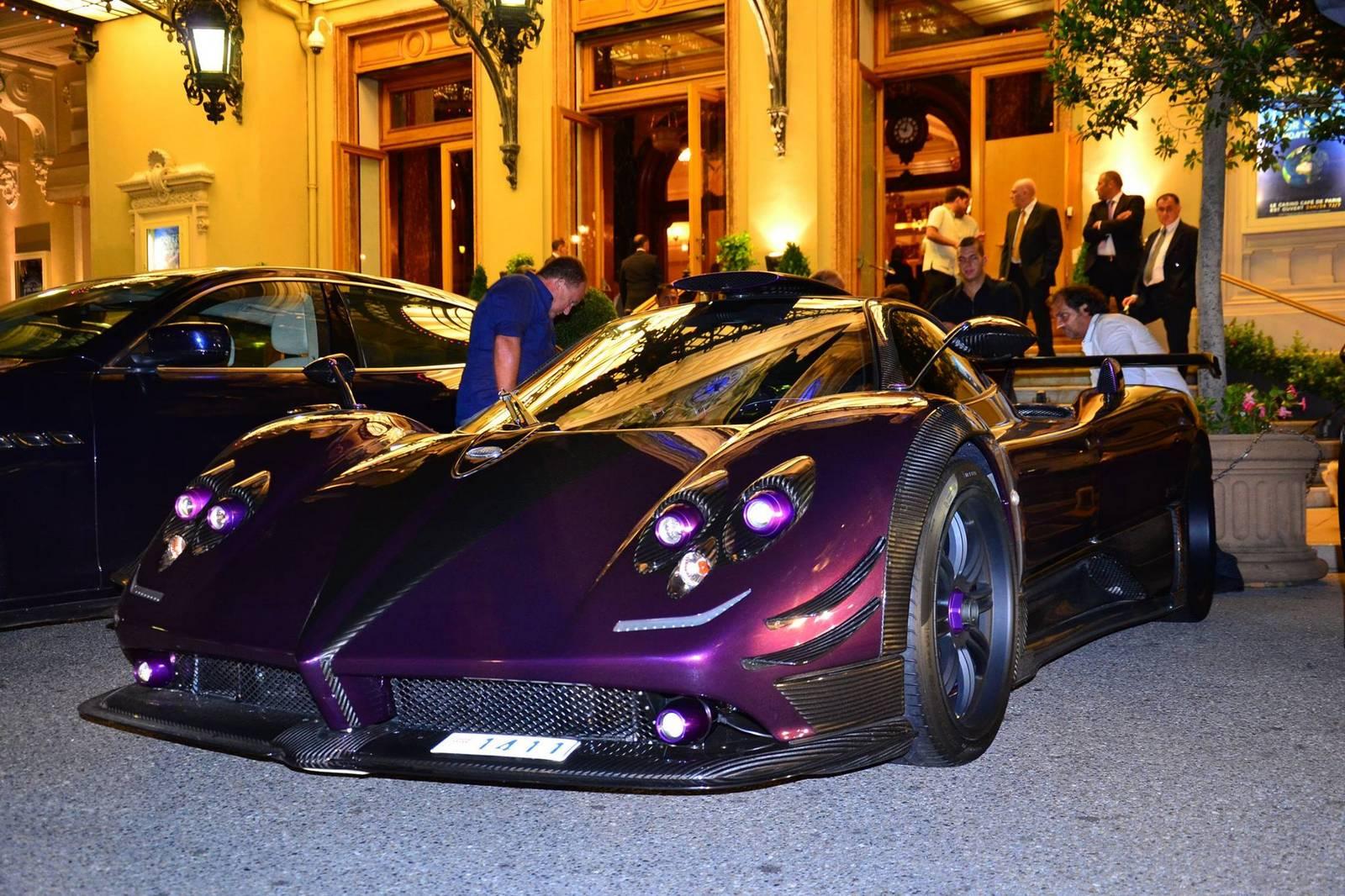 Gallery: Pagani Zonda 760 LH by Night in Monaco - GTspirit