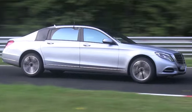 Video: Mercedes-Benz S-Class Maybach Tackles the Nurburgring