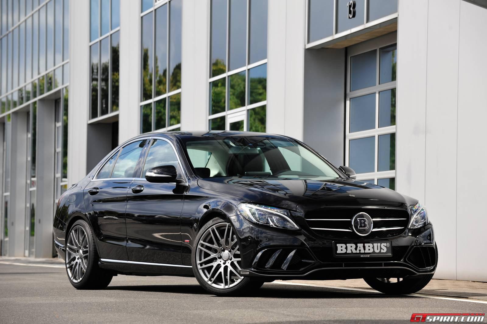 Official Brabus Mercedes Benz C Class Gtspirit