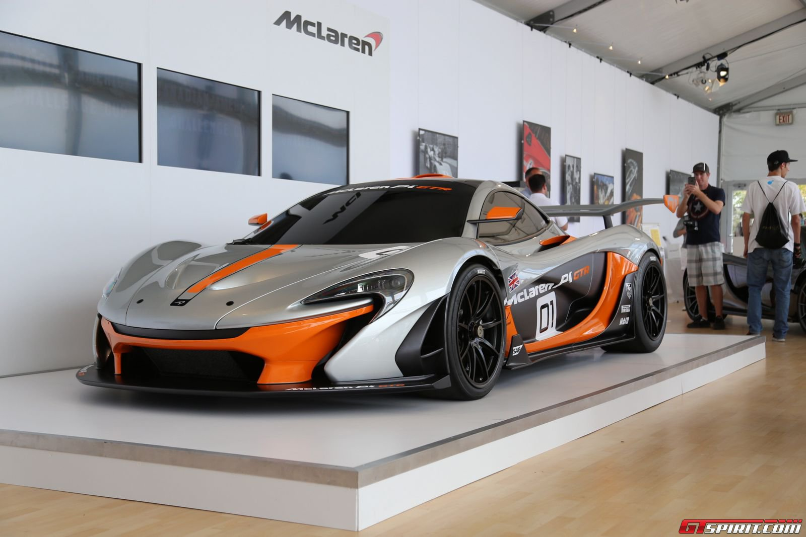 monterey 2014 mclaren p1 gtr design concept gtspirit. Black Bedroom Furniture Sets. Home Design Ideas