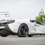 White McLaren 650S Spider Wears Unique Three-Spoke PUR Wheels