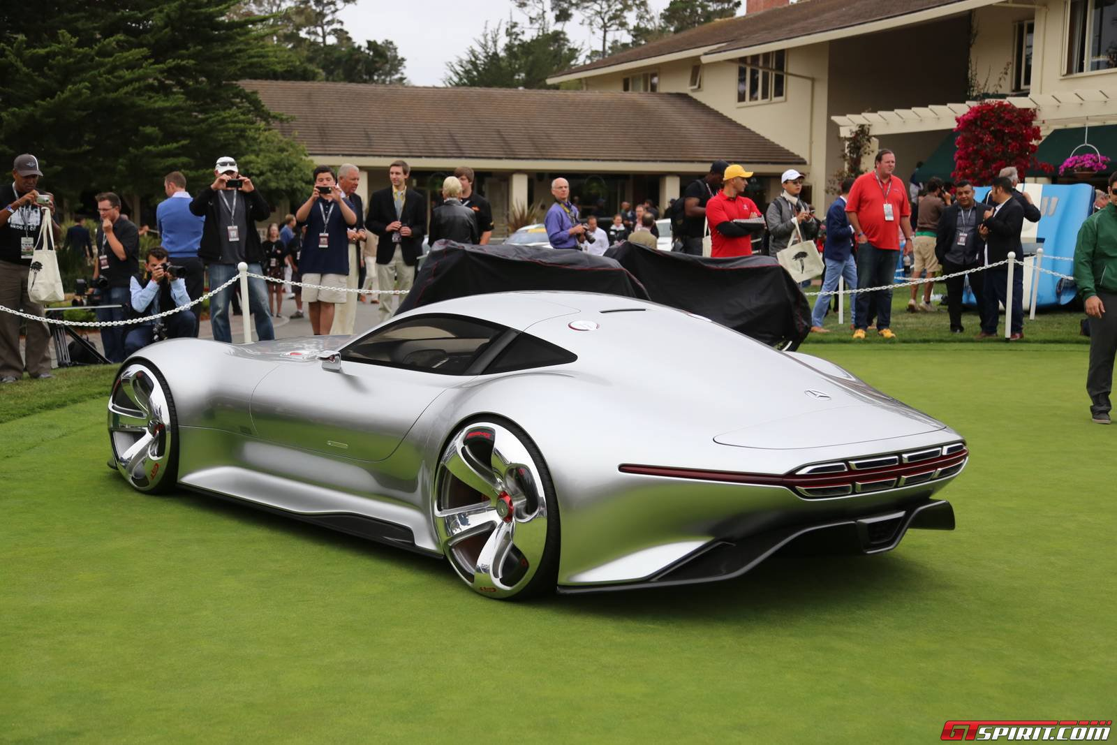 Monterey Concept And Supercar Lawn GTspirit - Monterey car show