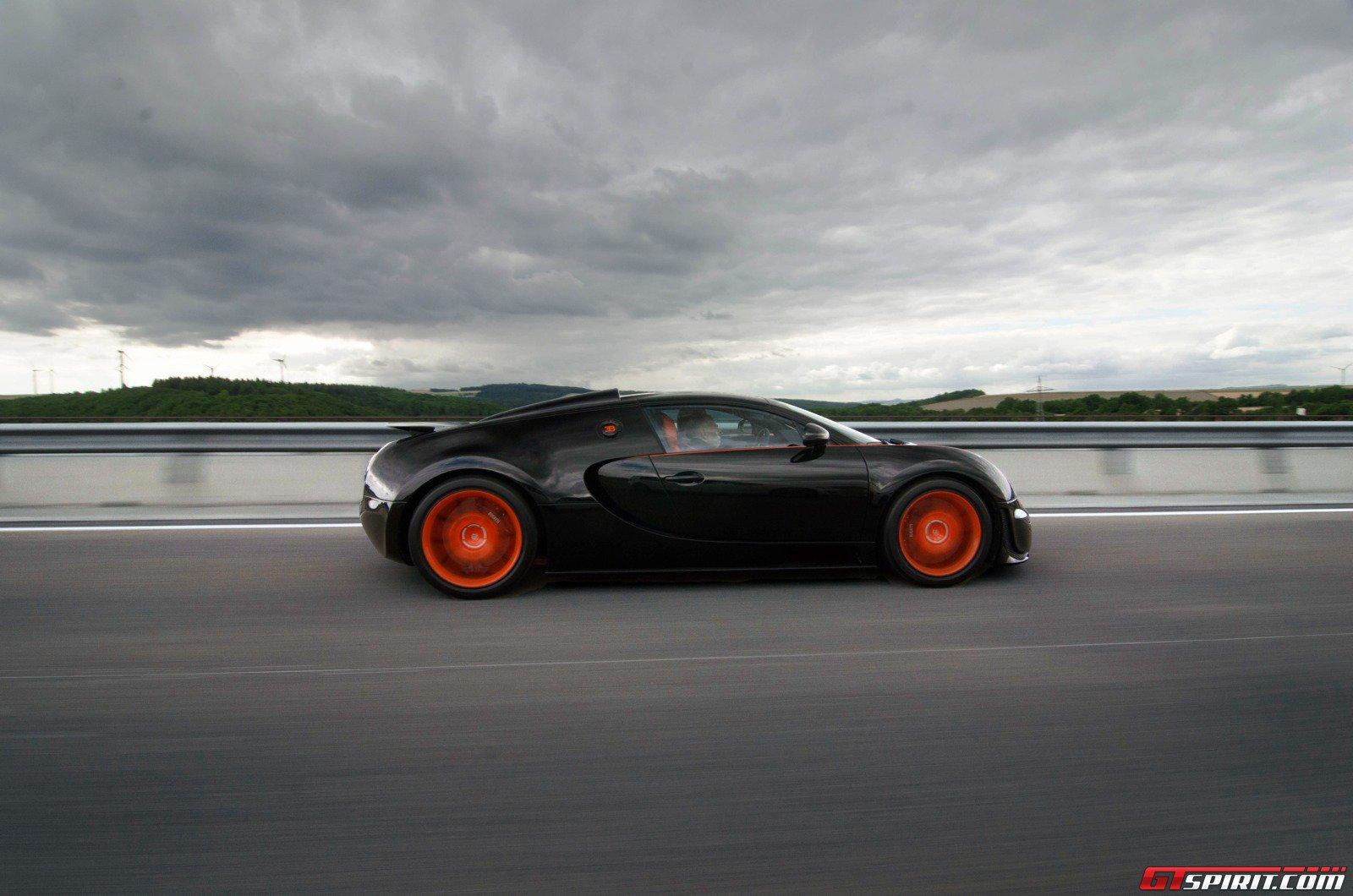 bugatti veyron grand sport vitesse world record car review - gtspirit