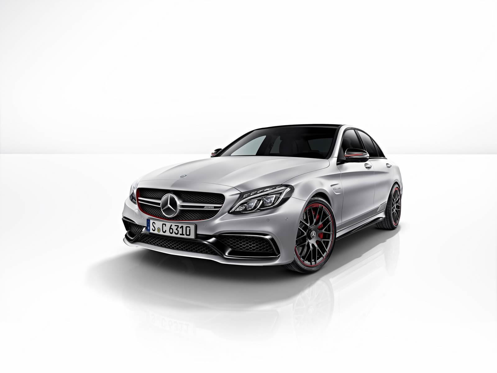 Official 2015 mercedes amg c63 edition 1 gtspirit for Mercedes benz c63 amg black edition