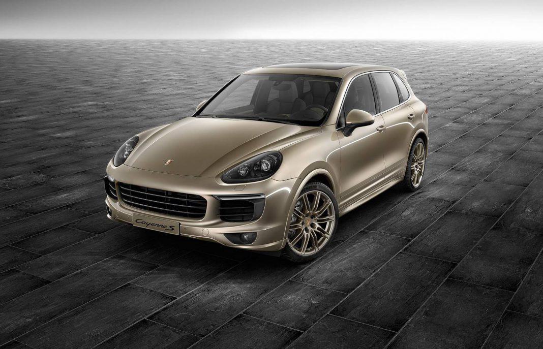Official: Palladium Metallic Porsche Exclusive Cayenne S