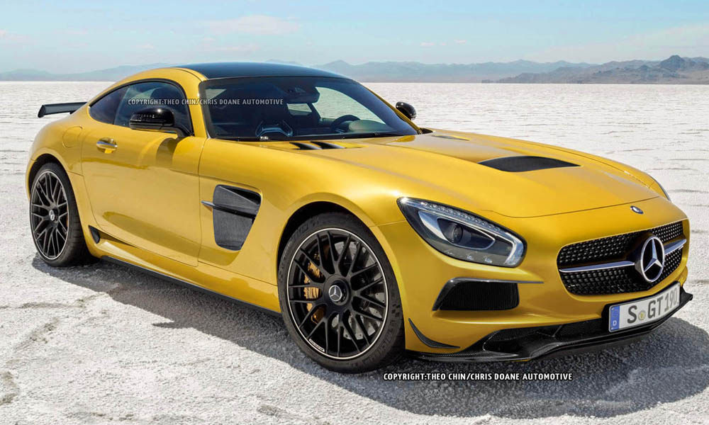 Awesome new mercedes amg gt black series renderings gtspirit for New mercedes benz supercar