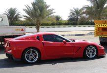 Overkill: Widebody Corvette C6 from Dubai