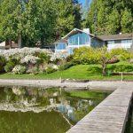 $4.2 Million Glasshouse on Lake Sammamish in Seattle