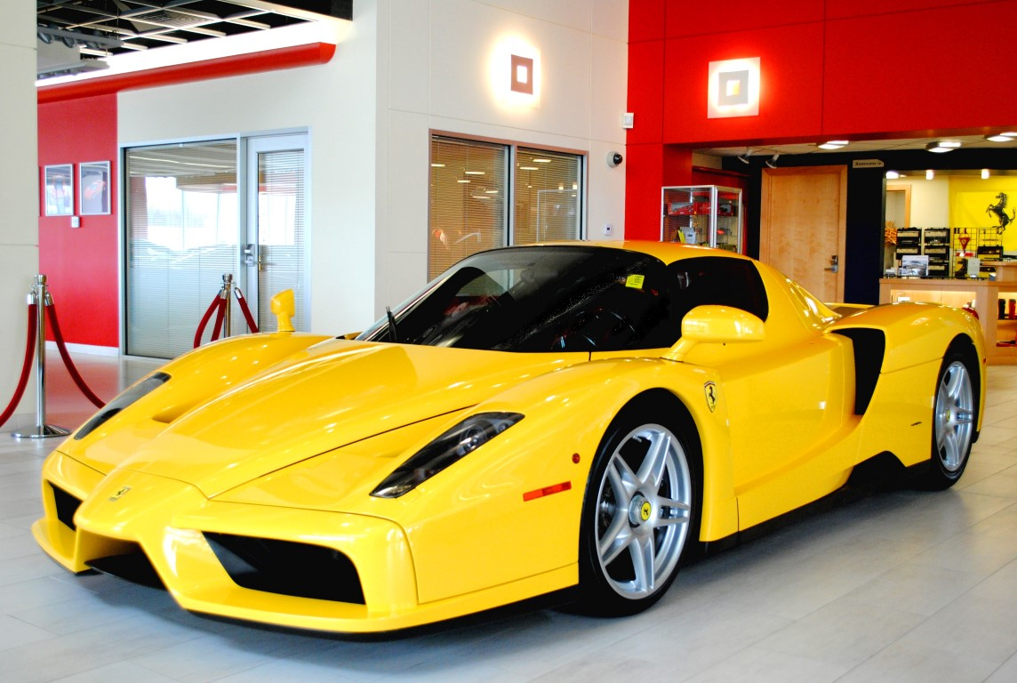 supercar - Ferrari 2014 Yellow