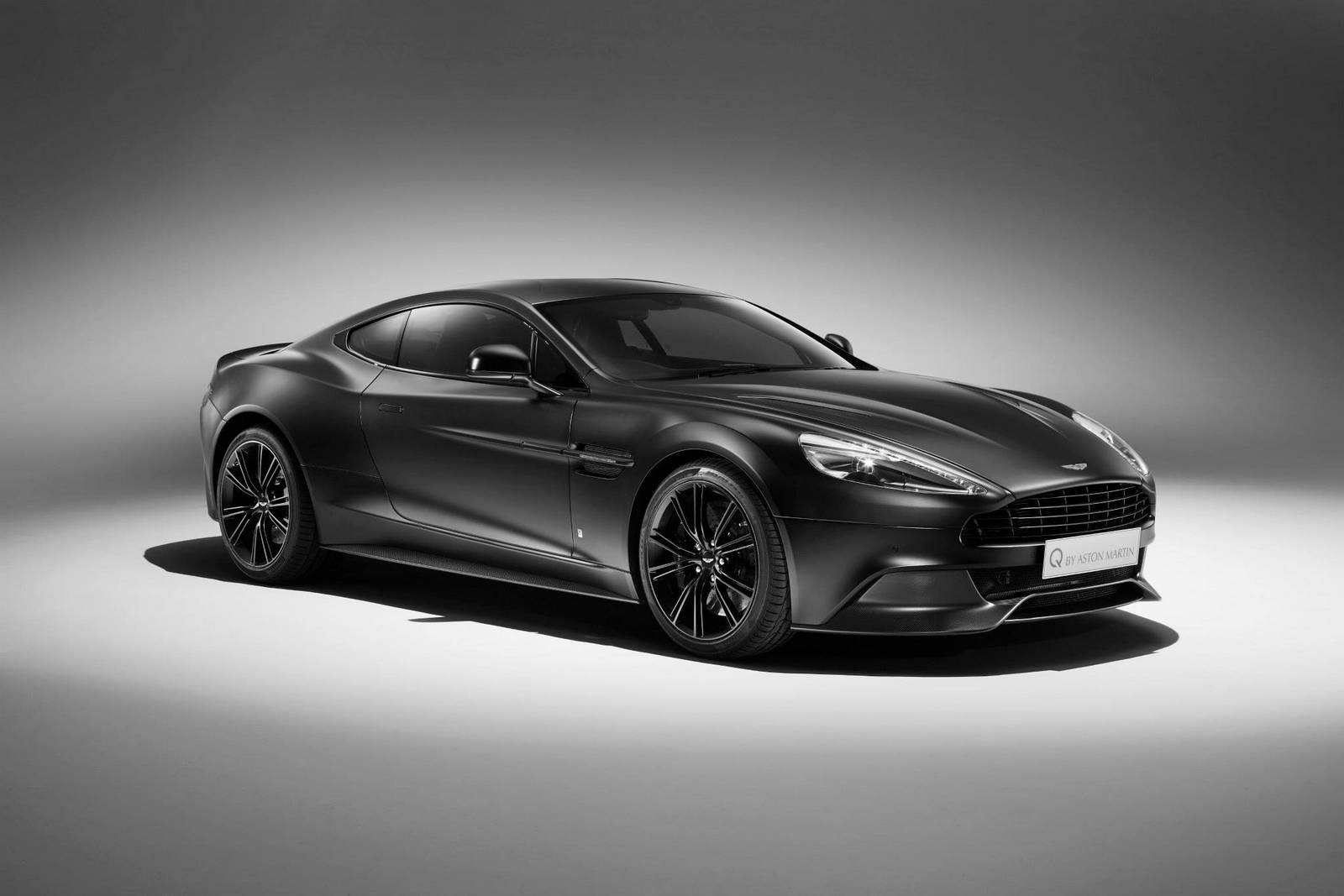 Q By Aston Martin Reveals New Jet Black Vanquish Coupe Gtspirit