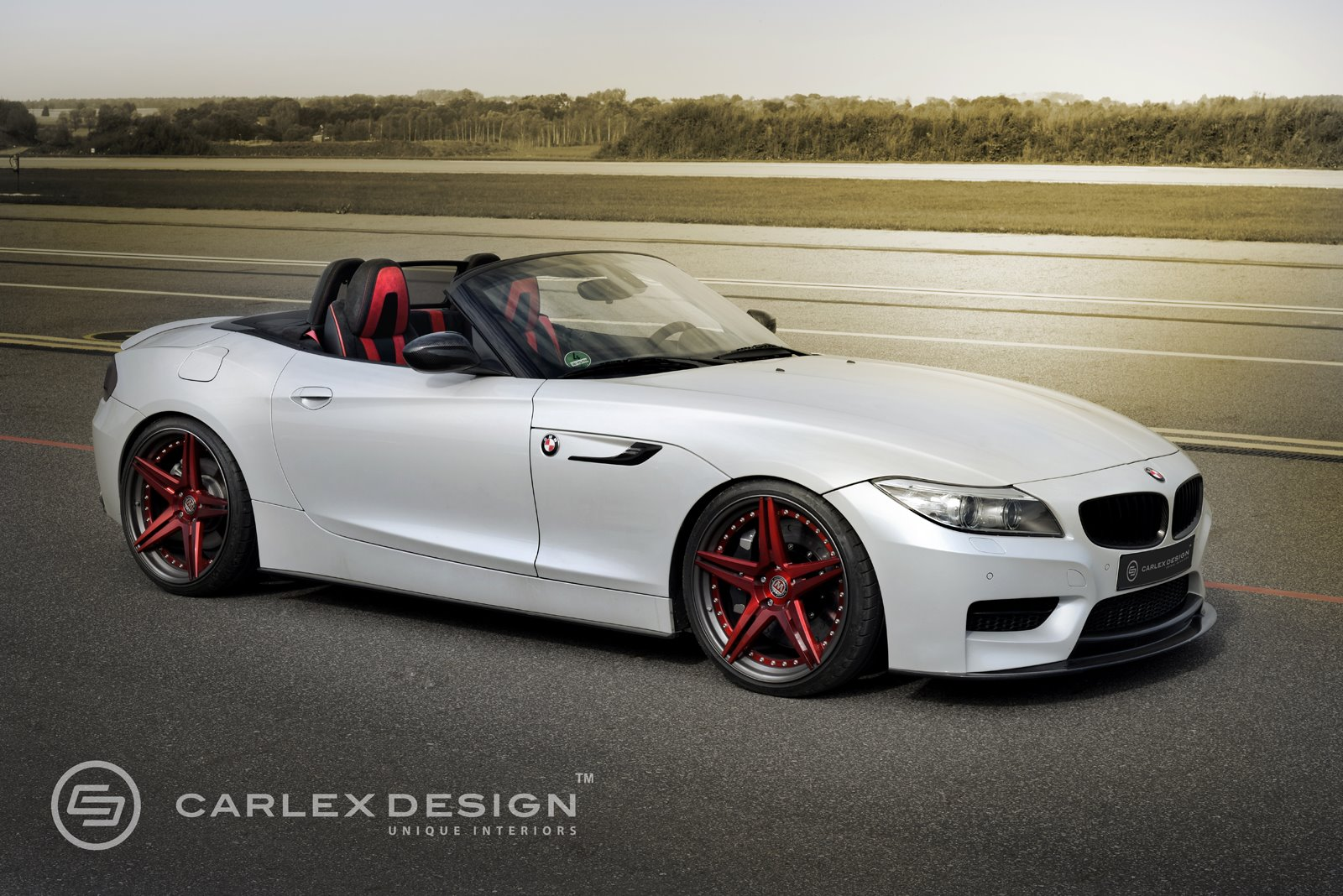 Official: BMW Z4 Red Carbonic by Carlex Design - GTspirit