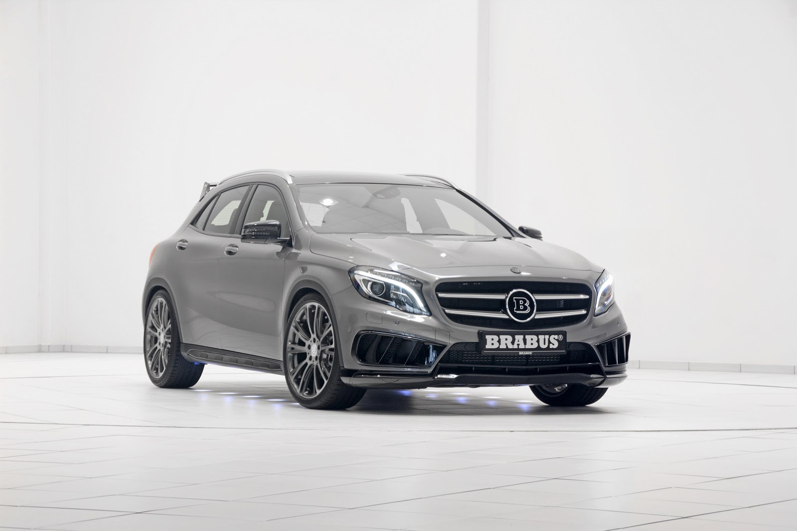Official 2015 Brabus Mercedes Benz Gla45 Amg Gtspirit