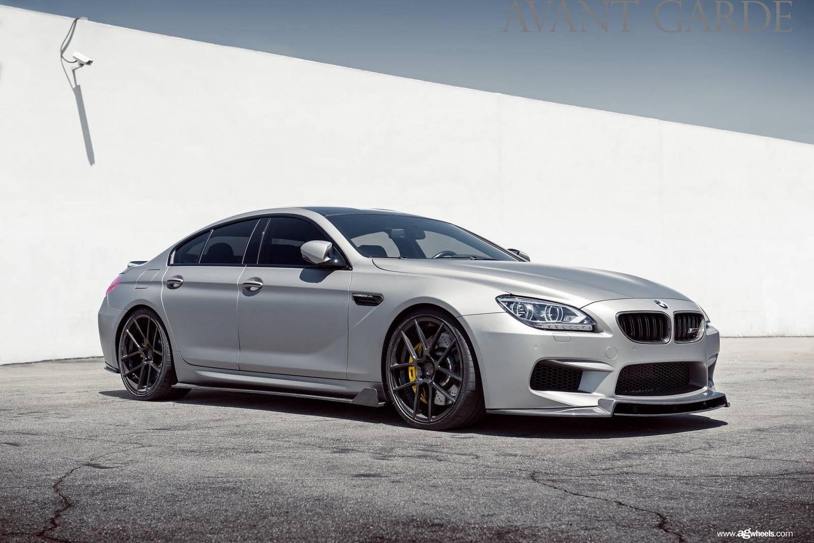 Matte Grey Enlaes EGT6 BMW M6 Gran Coupe - GTspirit
