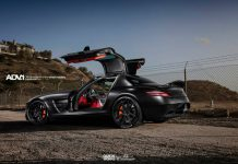 Mercedes-Benz SLS AMG by R1 Motorsports