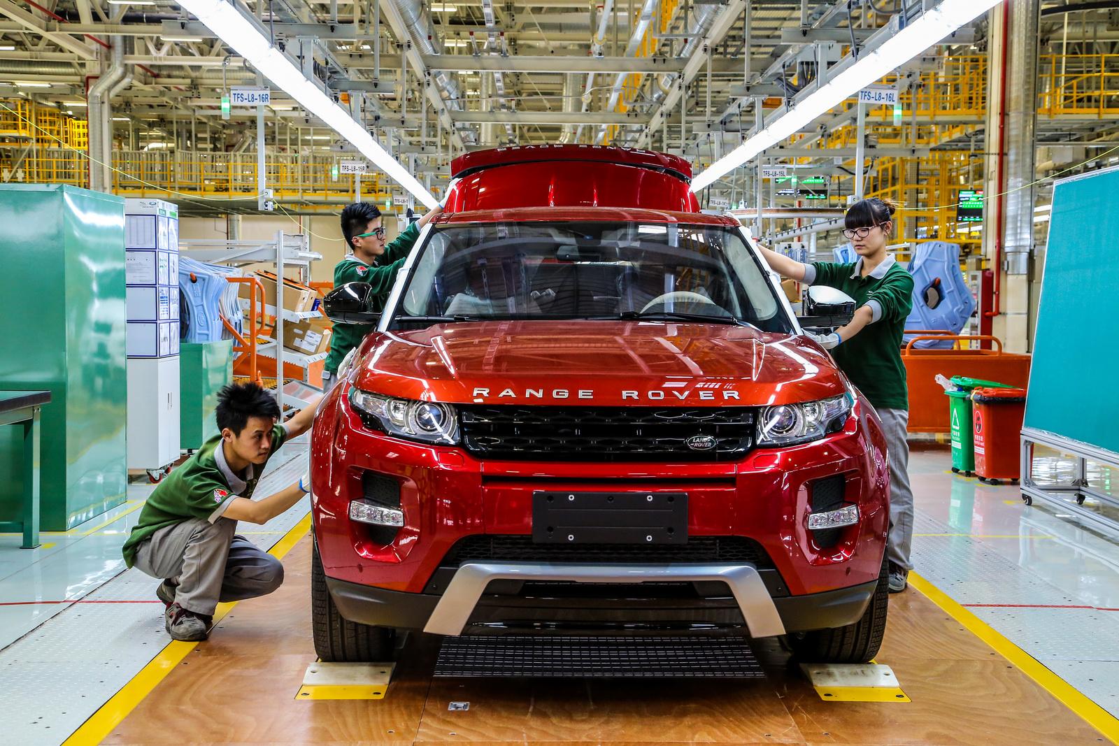Jaguar Land Rover Chinese Factory Kicks Off Production - GTspirit