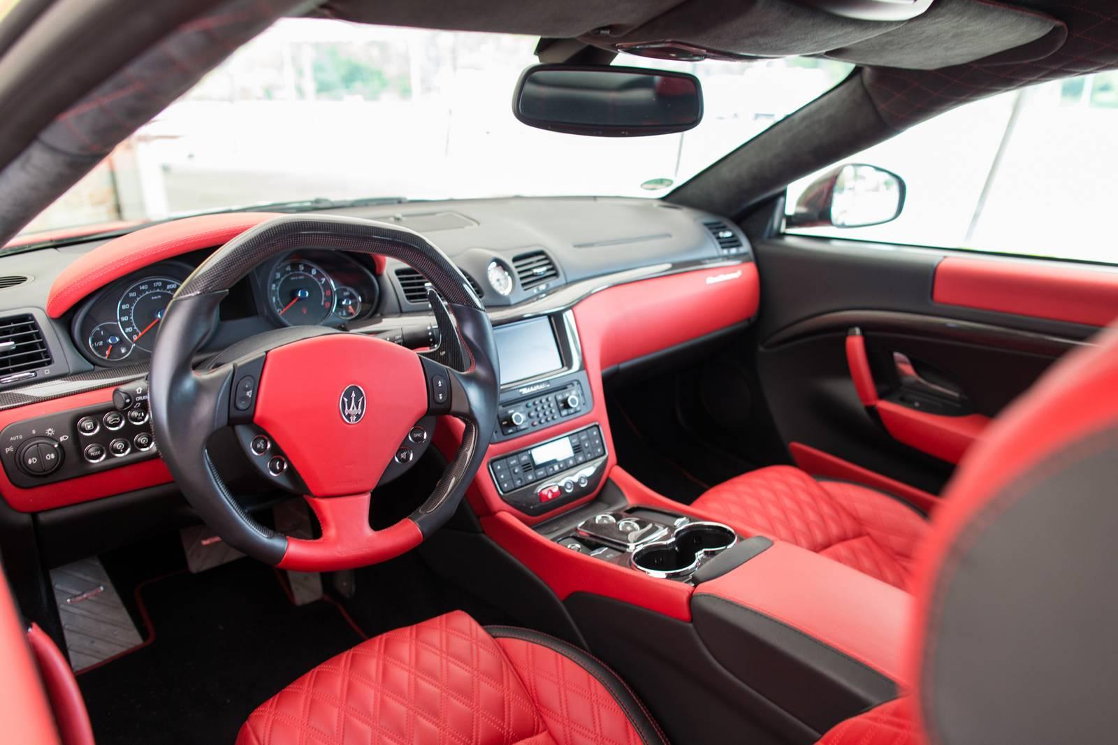 Mansory maserati granturismo s rosso mondiale review for Maserati granturismo s interieur