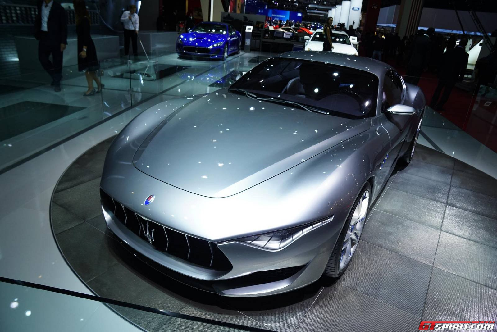 Maserati at Paris Motor Show 2014