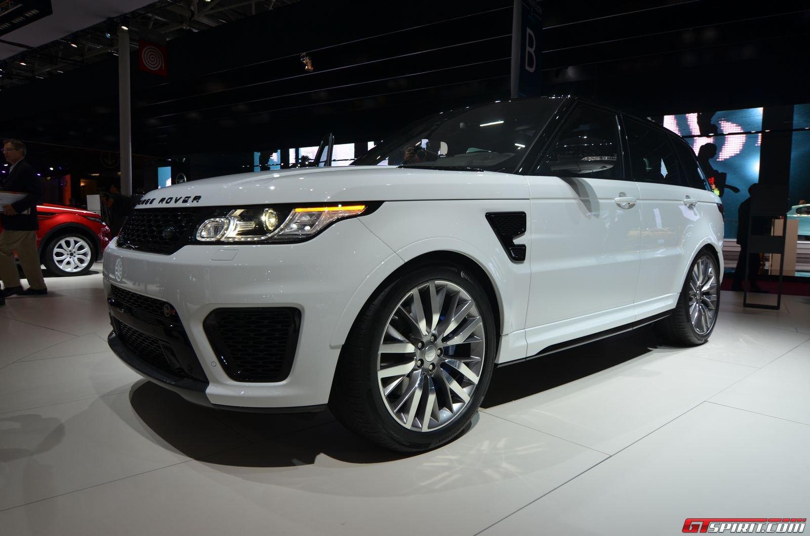 paris 2014 2015 range rover sport svr gtspirit. Black Bedroom Furniture Sets. Home Design Ideas