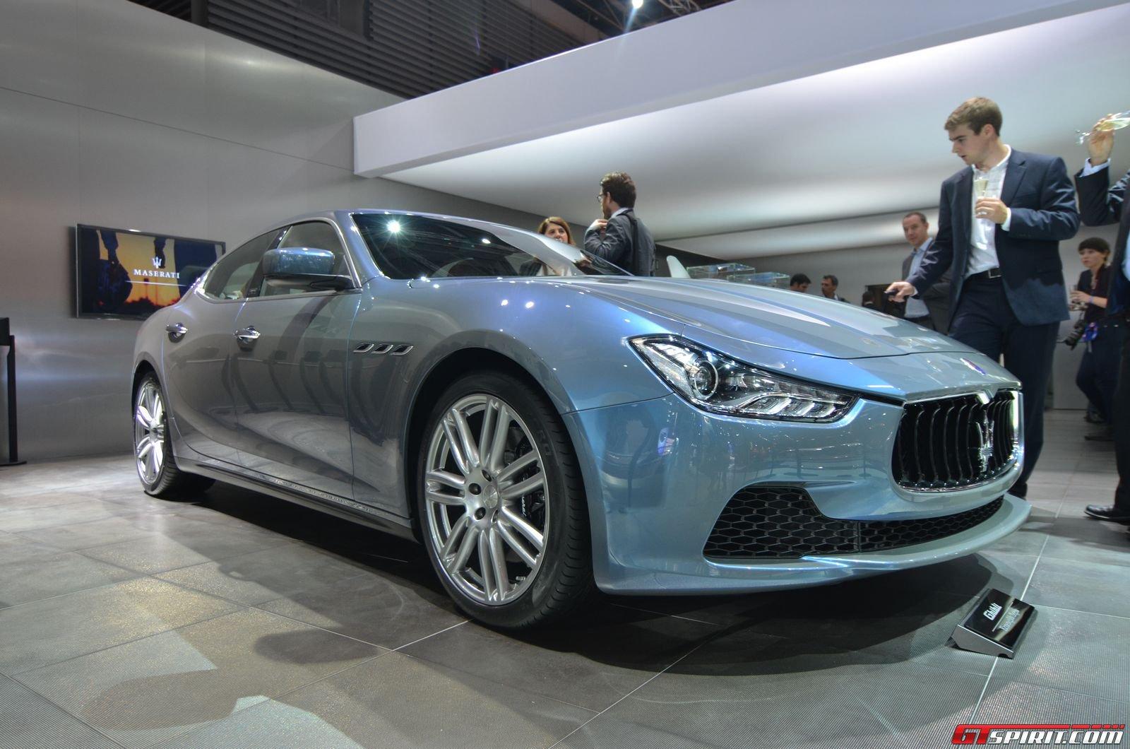 Paris 2014: 2015 Maserati Ghibli Ermenegildo Zegna Edition - GTspirit