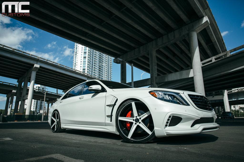Mc customs creates bold mercedes benz s550 gtspirit for Mercedes benz custom rims