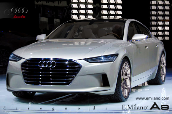 Audi A9 Concept Imagined by Evren Milano - GTspirit