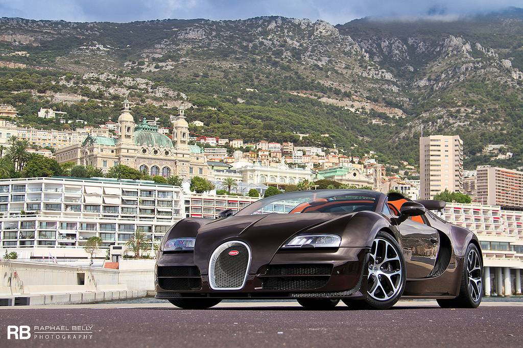 photo of the day bugatti veyron grand sport vitesse in monaco gtspirit. Black Bedroom Furniture Sets. Home Design Ideas