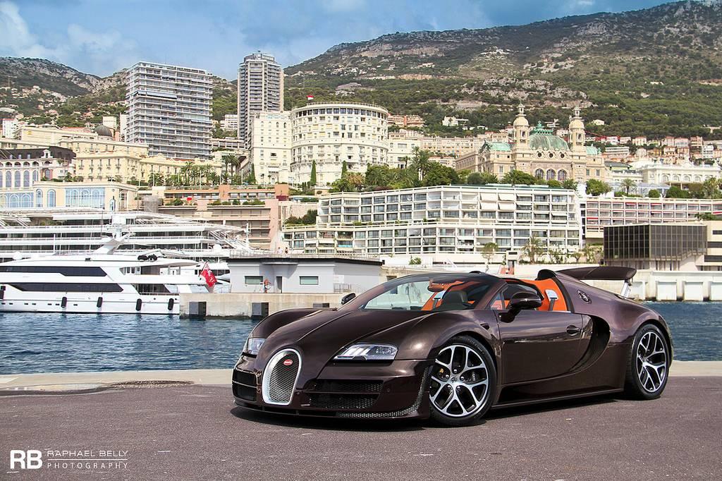 photo of the day bugatti veyron grand sport vitesse in monaco gtspirit. Black Bedroom Furniture Sets. Home Design Ideas