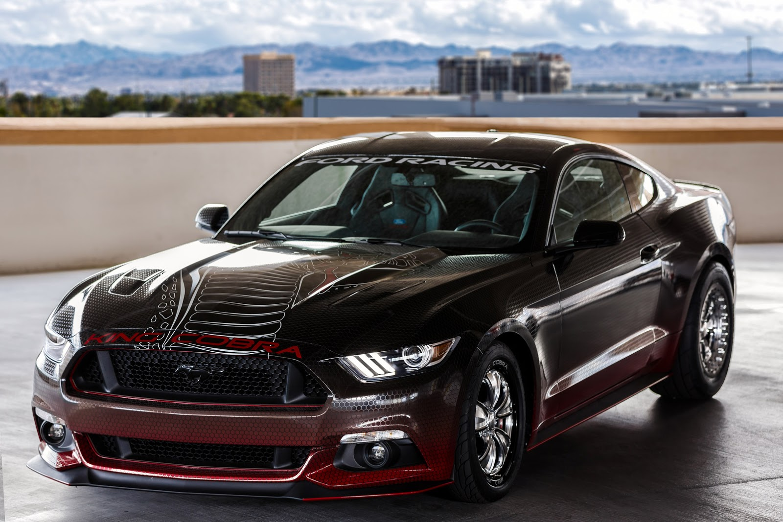Official 2015 Ford Mustang King Cobra Concept