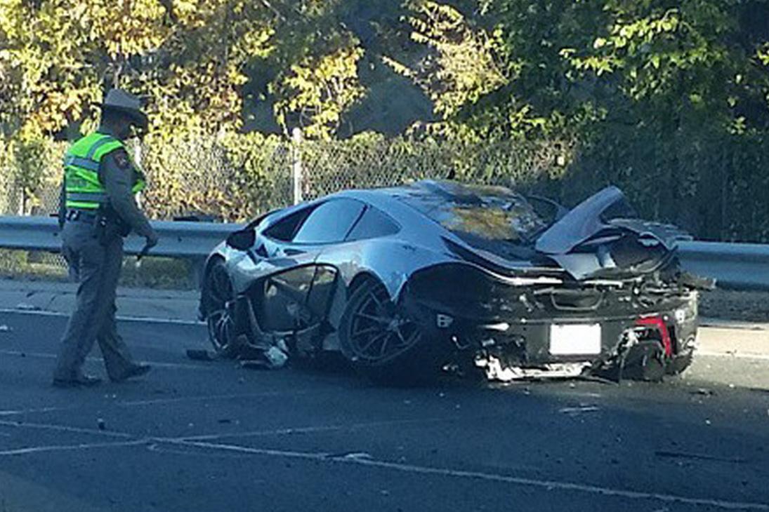 Mclaren P1 Wrecked In Dallas Crash Gtspirit
