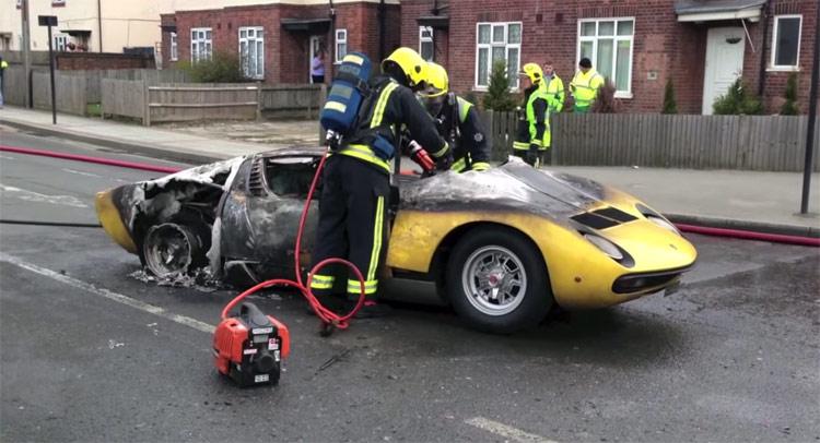 Uk Billionaire Suing Auto Repairer After Lamborghini Miura Fire Gtspirit