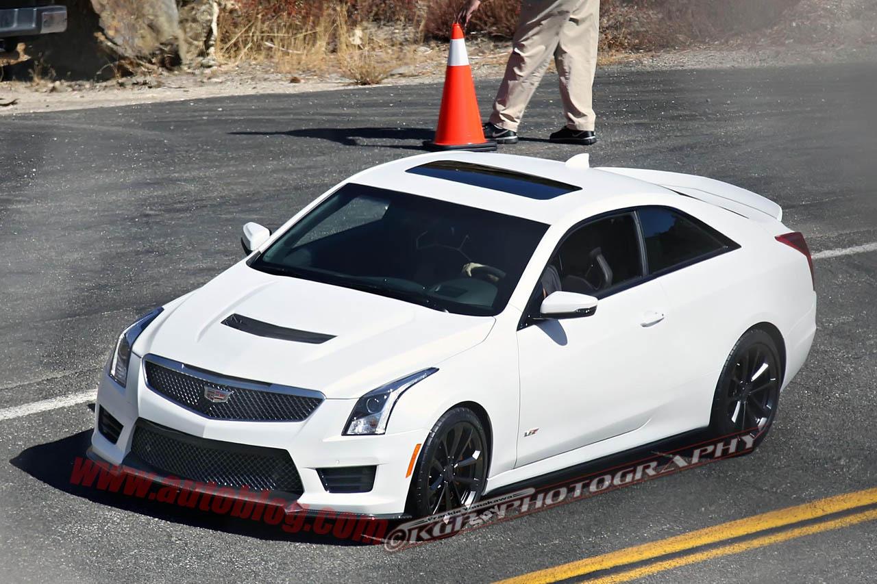 Cadillac ATS-V Confirmed for L.A. Auto Show Debut - GTspirit