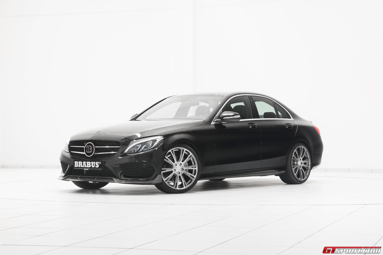 Official brabus mercedes benz c class amg line gtspirit for Mercedes benz g class brabus