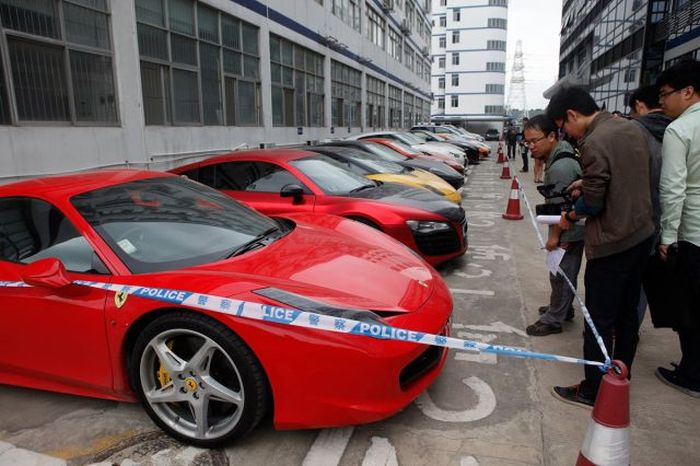 High Quality Hong Kong Police Seize Street Raceru0027s Supercars