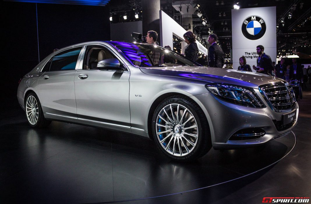 Los angeles 2014 mercedes maybach s 600 gtspirit for Mercedes benz los angeles