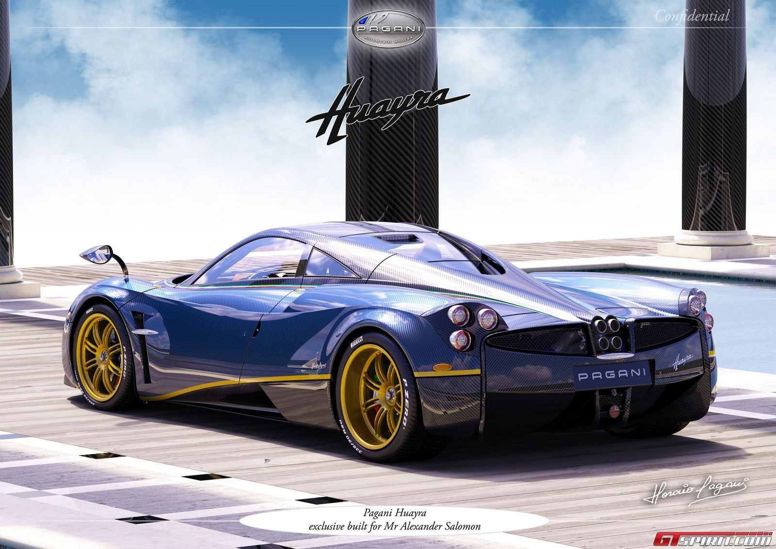 exclusive pagani huayra 730 s edition gtspirit. Black Bedroom Furniture Sets. Home Design Ideas