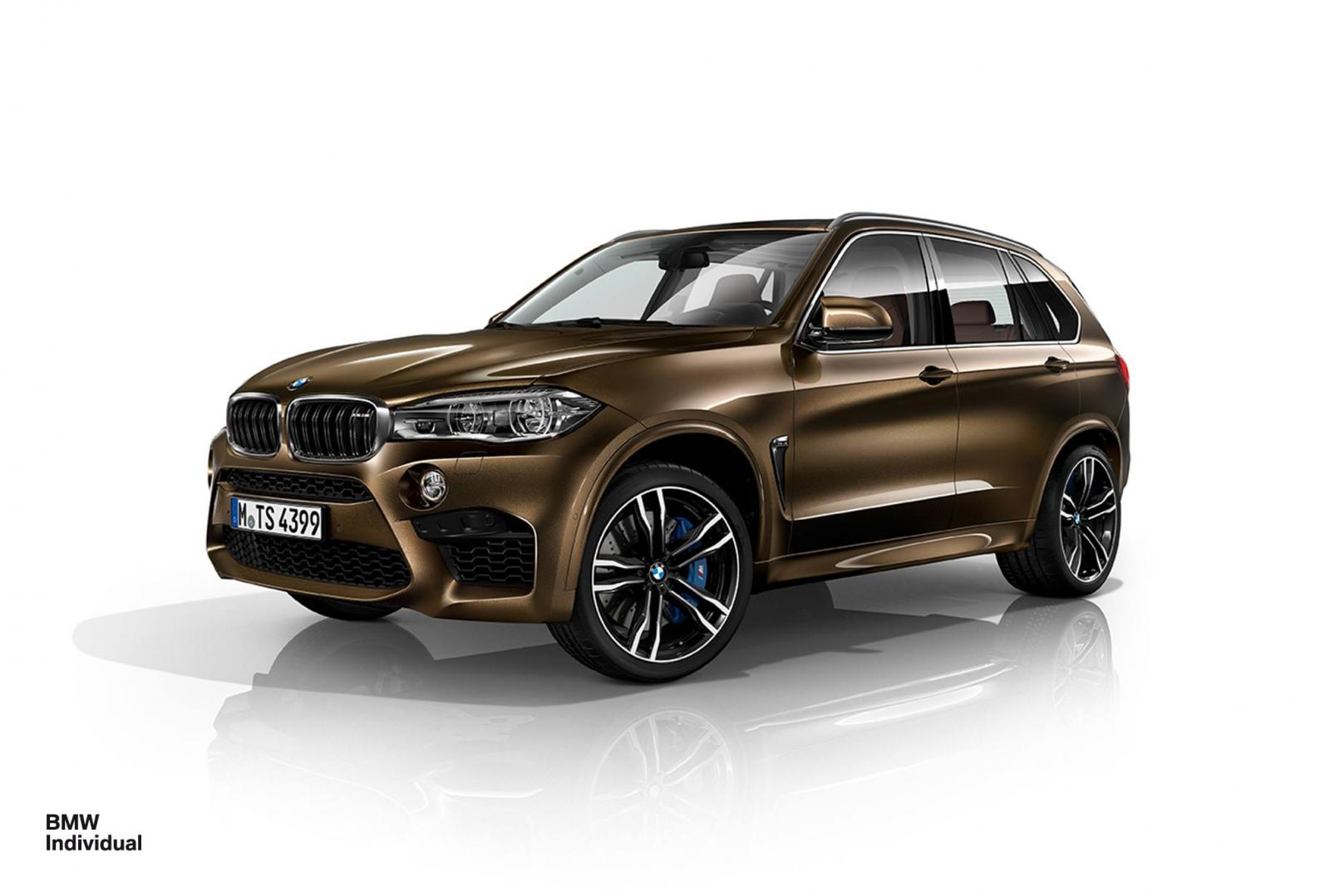 Official 2015 BMW X5 M And X6 By Individual