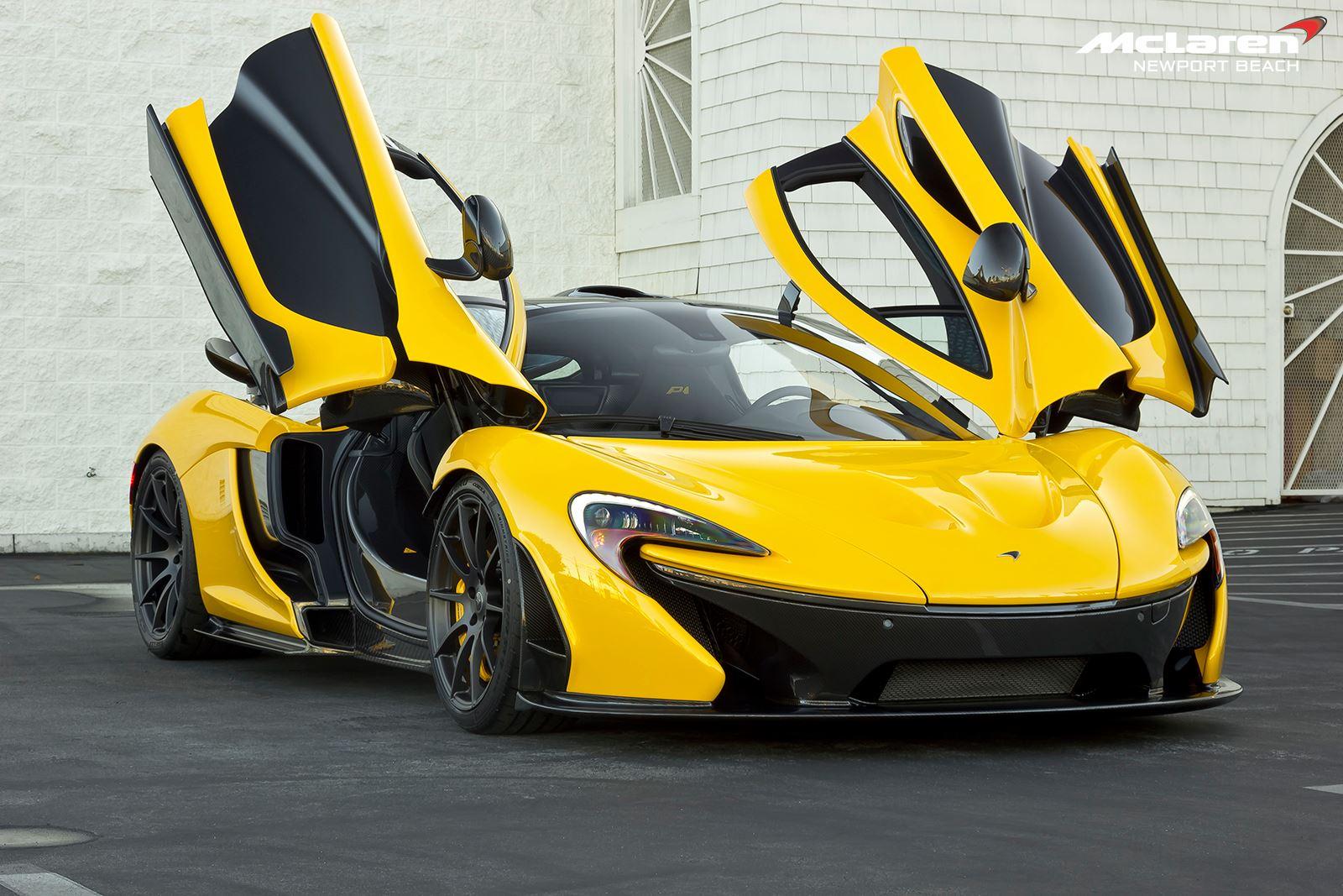 Gallery Volcano Yellow Mclaren P1 Chassis No 204 Gtspirit