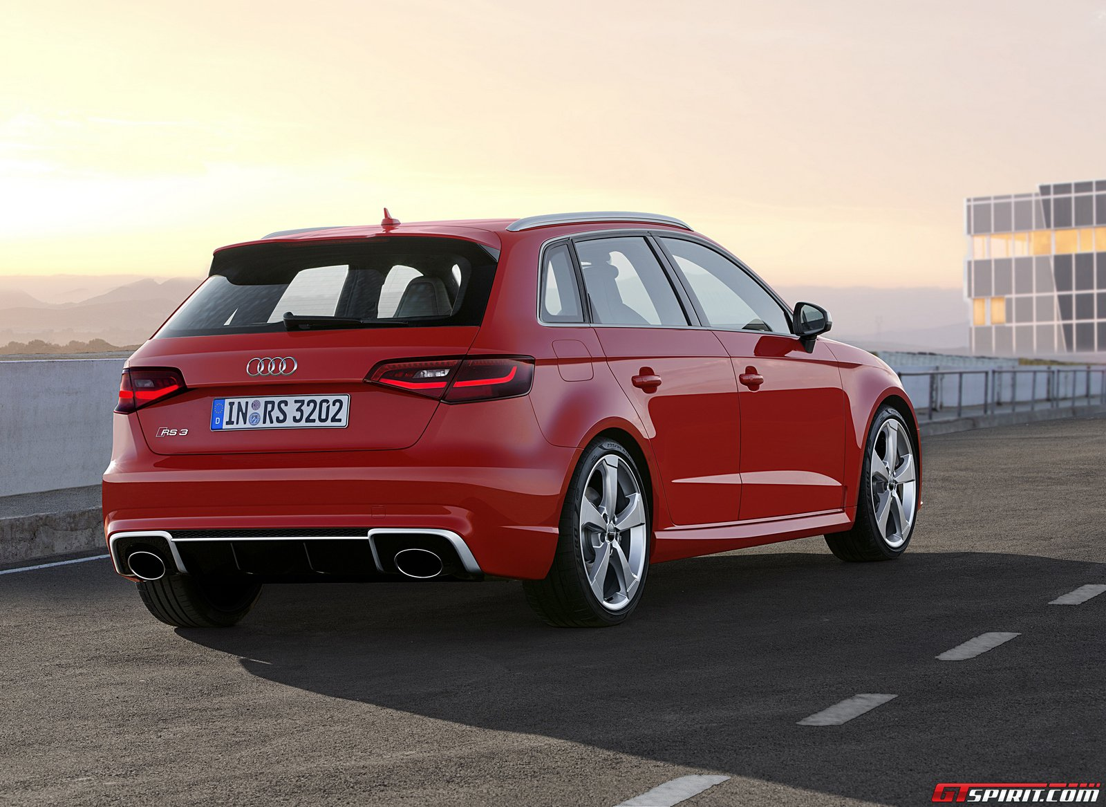official 2015 audi rs3 sportback gtspirit. Black Bedroom Furniture Sets. Home Design Ideas