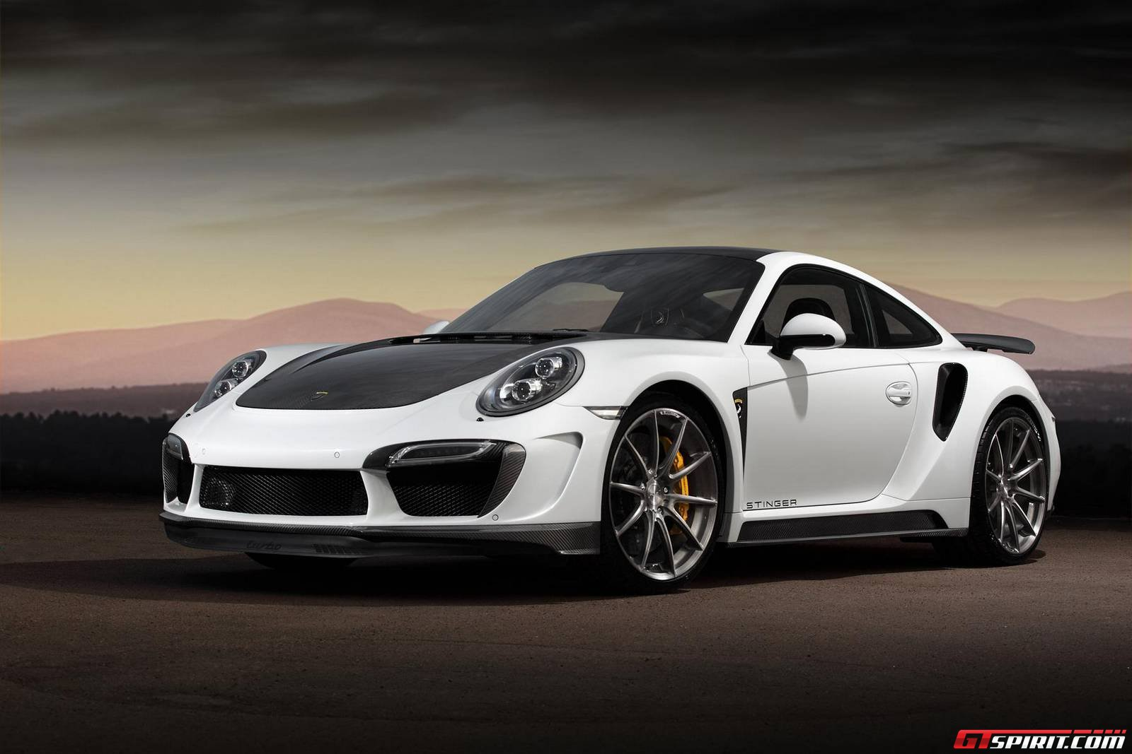 Official topcar porsche 911 turbo and turbo s stinger gtr for Porche americano